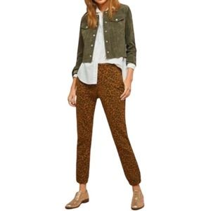 NEW Sanctuary x Anthropologie Leopard Jogger Pant